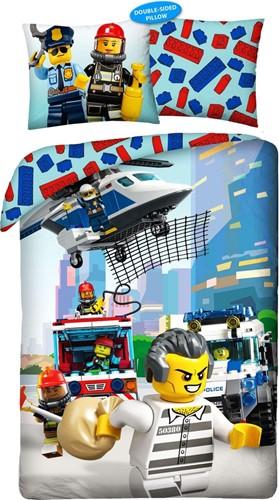 LEGO Dekbedovertrek City Boef