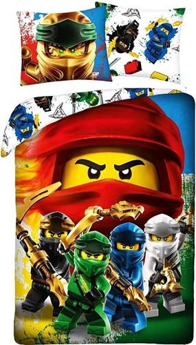 LEGO Dekbedovertrek NINJAGO® Crew