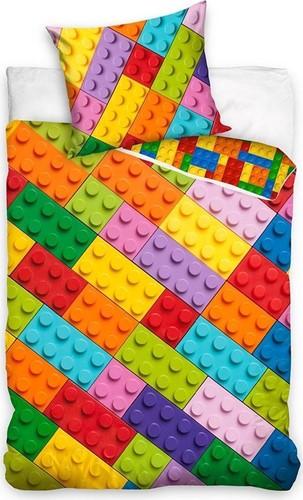 LEGO Dekbedovertrek Classic Bricks Multi-color