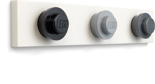 LEGO® kapstok - Zwart, grijs, donkergrijs - 5006230