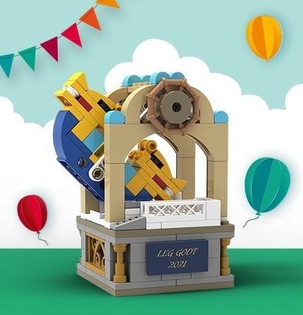 LEGO® Swing Ship Ride - C-Day - 5006746