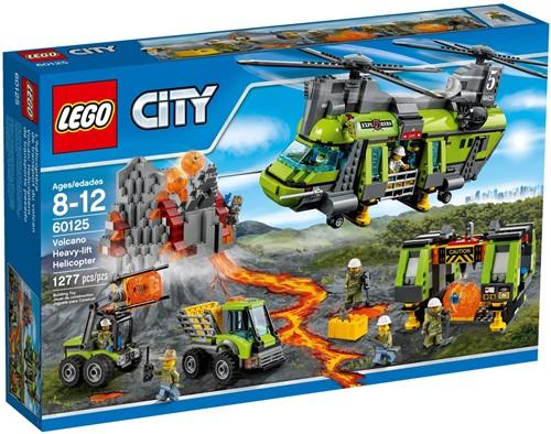 LEGO City 60125 Vulkaan zware vrachthelikopter