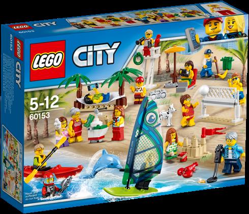 LEGO City Personenset - plezier aan het strand - 60153
