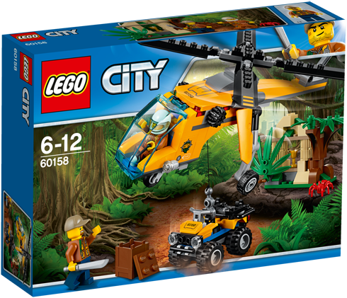 LEGO City Jungle vrachthelikopter - 60158