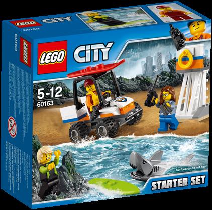 LEGO City Kustwacht starterset - 60163