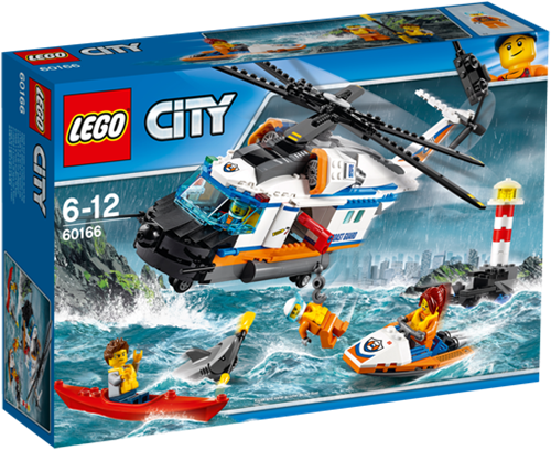LEGO City 60166 Zware reddingshelikopter