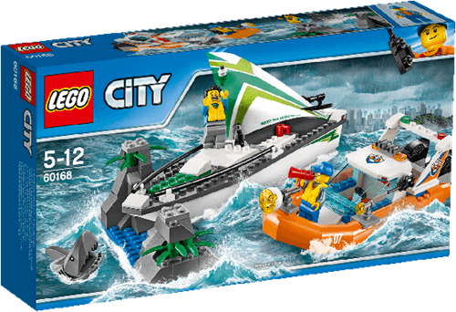 LEGO City 60168 Zeilboot reddingsactie