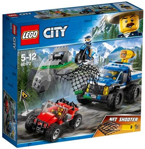 LEGO City 60172 Modderweg-achtervolging