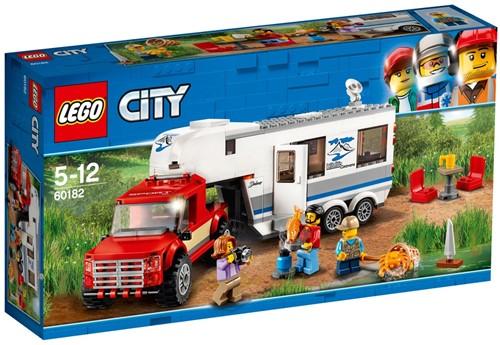 LEGO City 60182 Pick-up truck en caravan