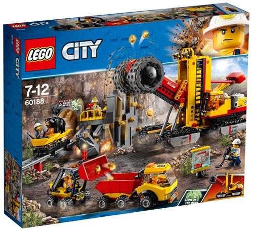 LEGO City 60188 Mijnbouwexpertlocatie