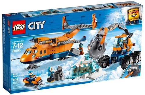 LEGO City 60196 Bevoorradingsvliegtuig voor de Noordpool