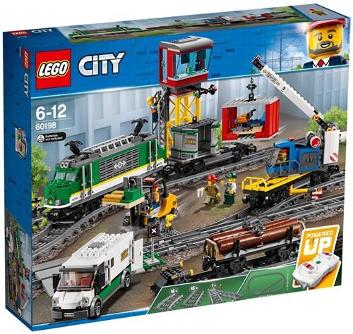 LEGO City Vrachttrein - 60198
