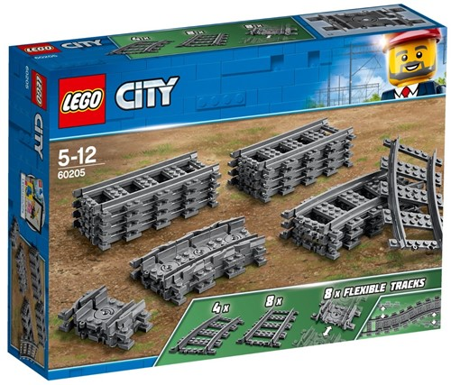 LEGO City Treinrails - 60205