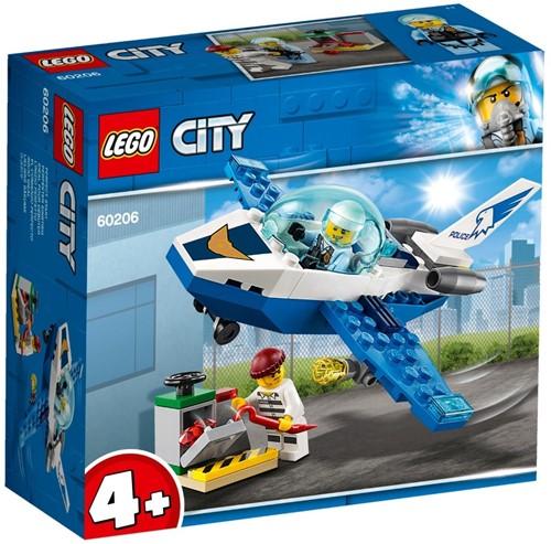 LEGO City Luchtpolitie vliegtuigpatrouille - 60206
