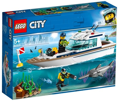 LEGO City Duikjacht - 60221