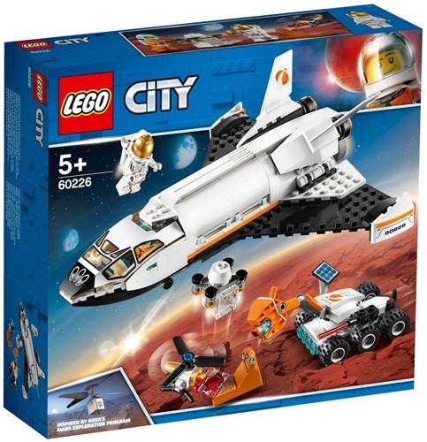 LEGO City Mars onderzoeksshuttle - 60226