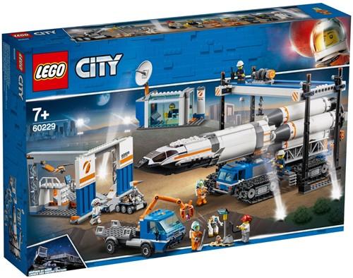 LEGO City Raket bouwen en transporteren - 60229
