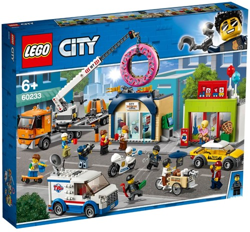 LEGO City Opening donutwinkel - 60233