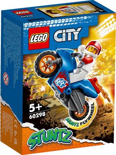 LEGO City Raket stuntmotor - 60298