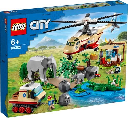 LEGO City Wildlife Rescue operatie - 60302