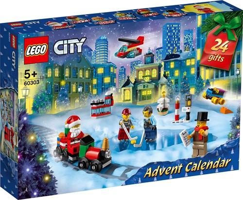 LEGO City Adventskalender 2021 - 60303