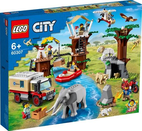 LEGO City Wildlife Rescue kamp - 60307