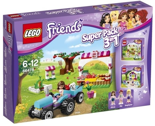 LEGO Friends 3-in-1 SuperPack - 66478