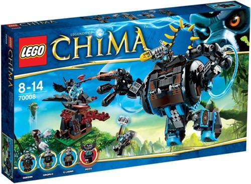 LEGO CHIMA Gorzan's Gorillajager - 70008