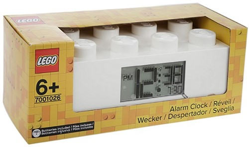 LEGO Brick 8 Alarmklok Wit - 7001026