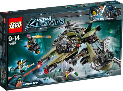 LEGO Ultra Agents 70164 Orkaan Roofoverval