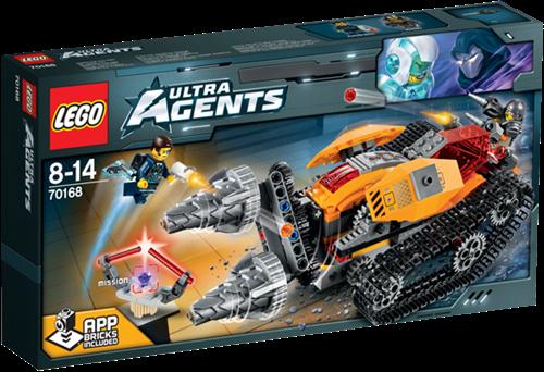 LEGO Ultra Agents 70168 Drillex diamantroof