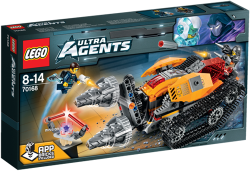 LEGO Ultra Agents Drillex diamantroof - 70168
