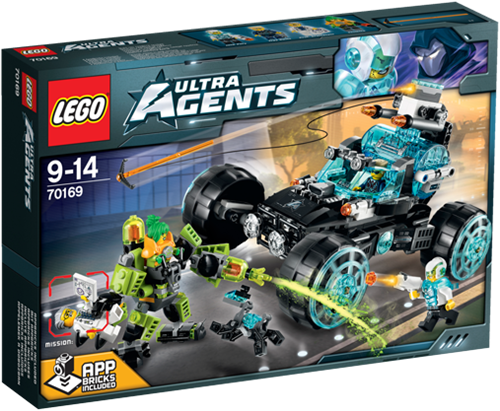 LEGO Ultra Agents 70169 Agent Stealth Patrouille