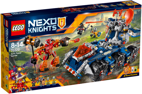 LEGO NEXO KNIGHTS™ Axl's torentransport - 70322