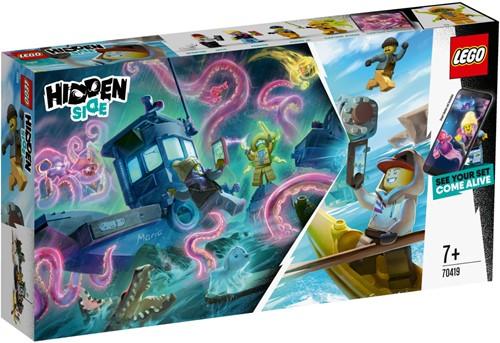 LEGO Hidden Side™ Schipbreuk met garnalenboot - 70419