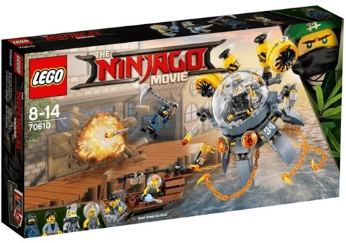 THE LEGO® NINJAGO® MOVIE™ 70610 Vliegende kwal duikboot