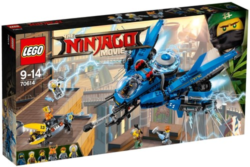 THE LEGO® NINJAGO® MOVIE™ 70614 Bliksemstraaljager