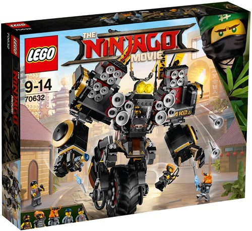 THE LEGO® NINJAGO® MOVIE™ Aardschokmecha - 70632