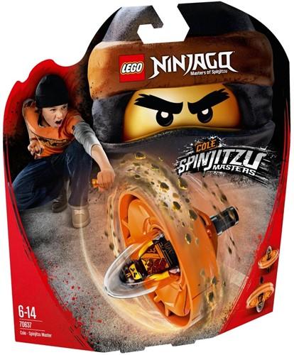 LEGO NINJAGO™ Cole - Spinjitzumeester - 70637