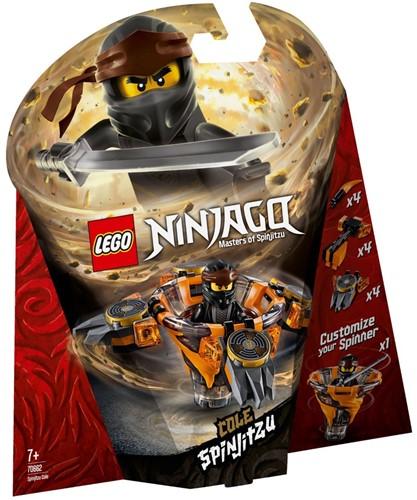 LEGO NINJAGO® Spinjitzu Cole - 70662