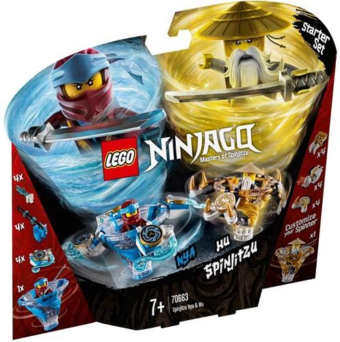 LEGO NINJAGO® Spinjitzu Nya & Wu - 70663