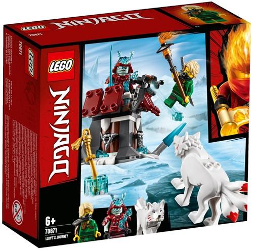 LEGO NINJAGO® De reis van Lloyd - 70671