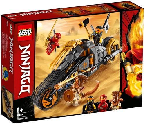 LEGO NINJAGO® 70672 Cole's crossmotor