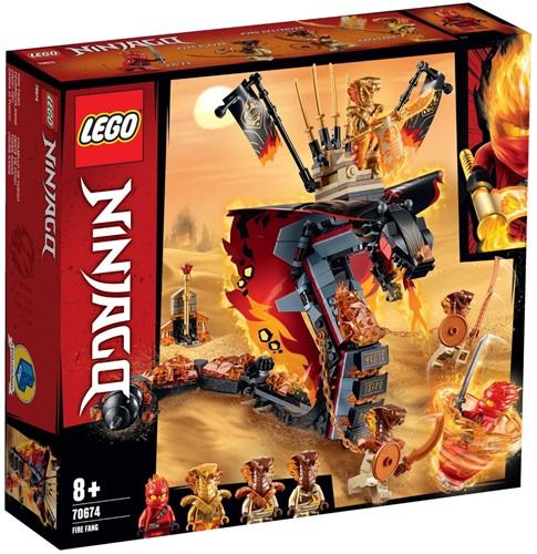 LEGO NINJAGO® 70674 Vuurtand