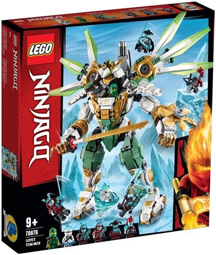 LEGO NINJAGO® Titanium mecha van Lloyd - 70676