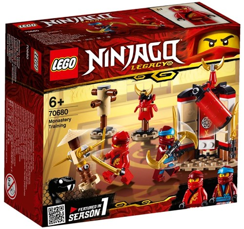 LEGO NINJAGO® Kloostertraining - 70680