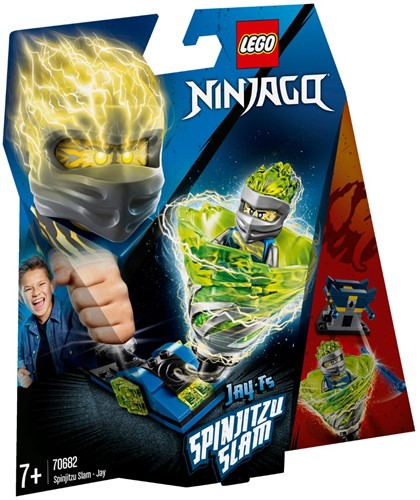 LEGO NINJAGO® Spinjitzu Slam - Jay - 70682
