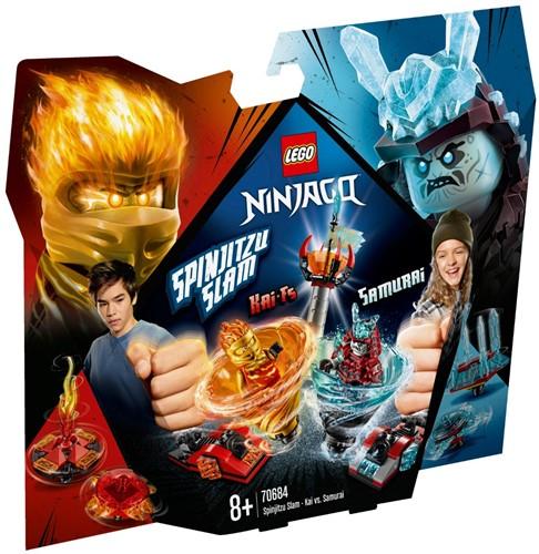 LEGO NINJAGO® 70684 Spinjitzu Slam - Kai vs. Samoerai