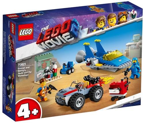 The LEGO® Movie 2™ 70821 Emmets en Benny's bouw- en reparatiewerkplaats