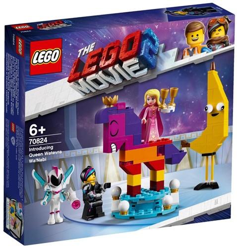 The LEGO® Movie 2™ Maak kennis met koningin Wiedanook Watdanook - 70824